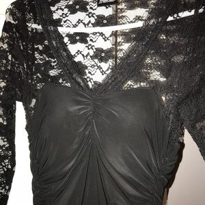 Fredericks of Hollywood black dress size small